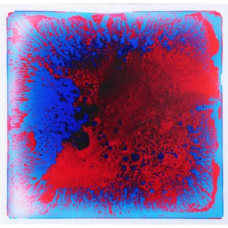 Red/Blue Color Burst Play Tile